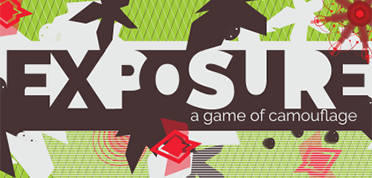 game logo for Expsoure, A Game of Camouflage