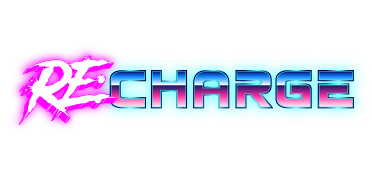 game logo for RE:CHARGE