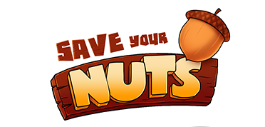 game logo for Save Your Nuts