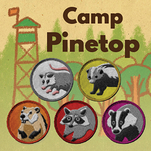 game logo for Camp Pinetop