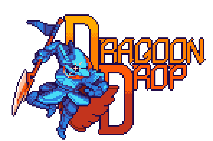 game logo for Dragoon Drop