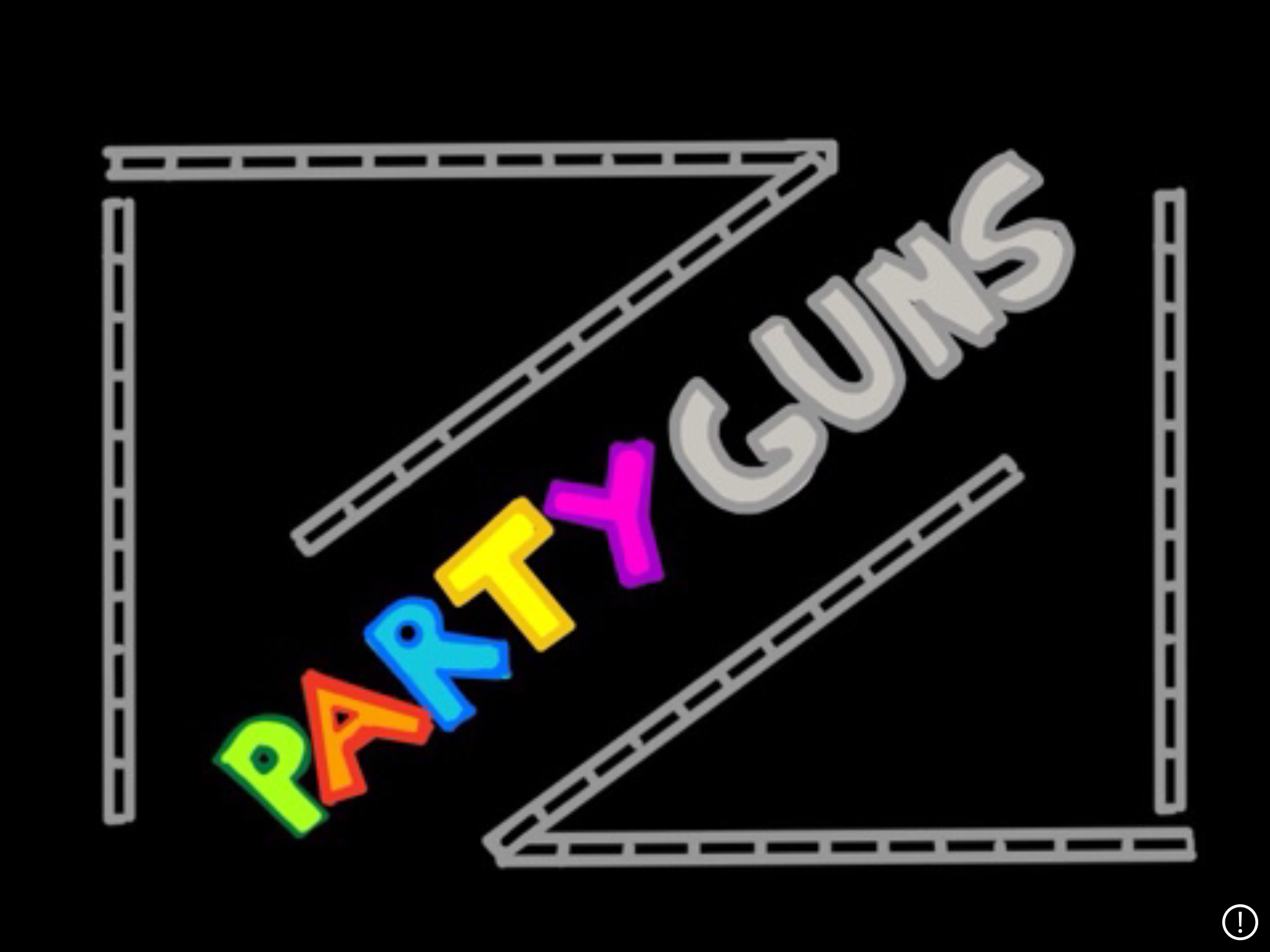 game logo for Party Guns