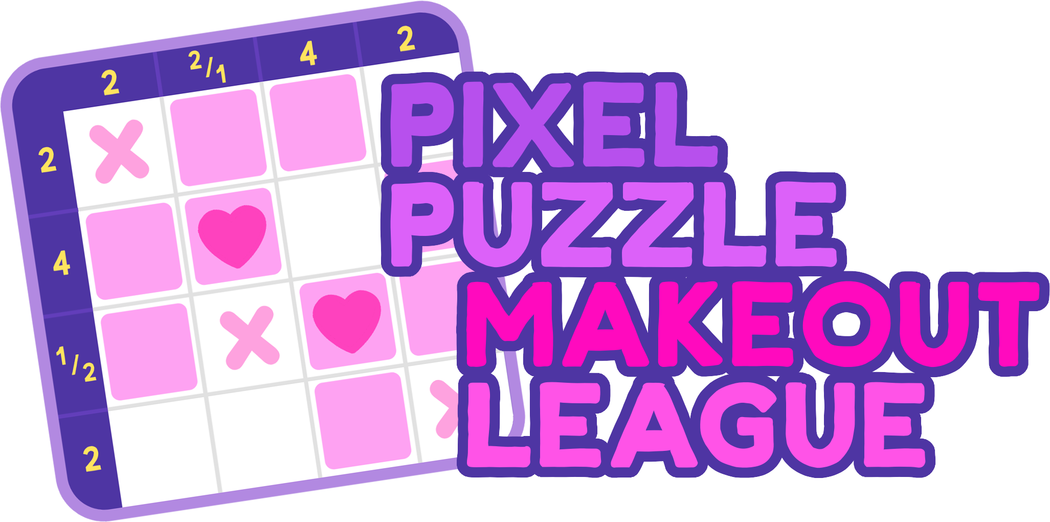 game logo for Pixel Puzzle Makeout League