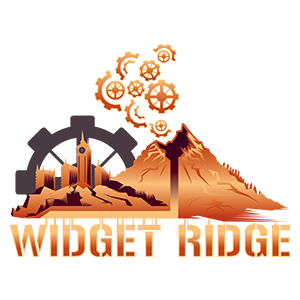 game logo for Widget Ridge
