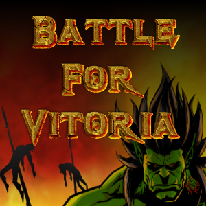 game logo for Battle For Vitoria