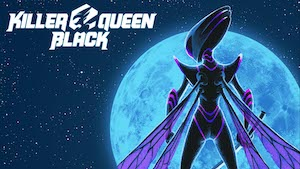 game logo for Killer Queen Black