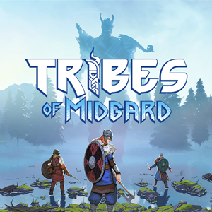 game logo for Tribes of Midgard