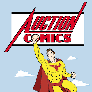 game logo for Auction Comics