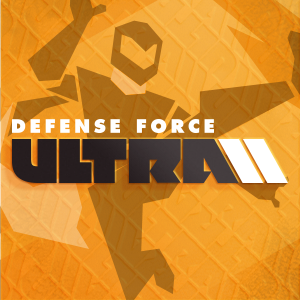 game logo for Defense Force ULTRA