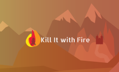 game logo for Kill It With Fire