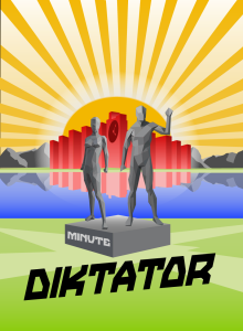 game logo for Minute Diktator