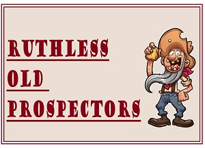 game logo for Ruthless Old Prospectors