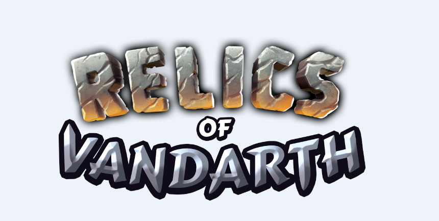 game logo for Relics of Vandarth