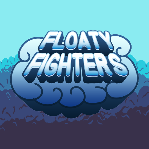 game logo for Floaty Fighters